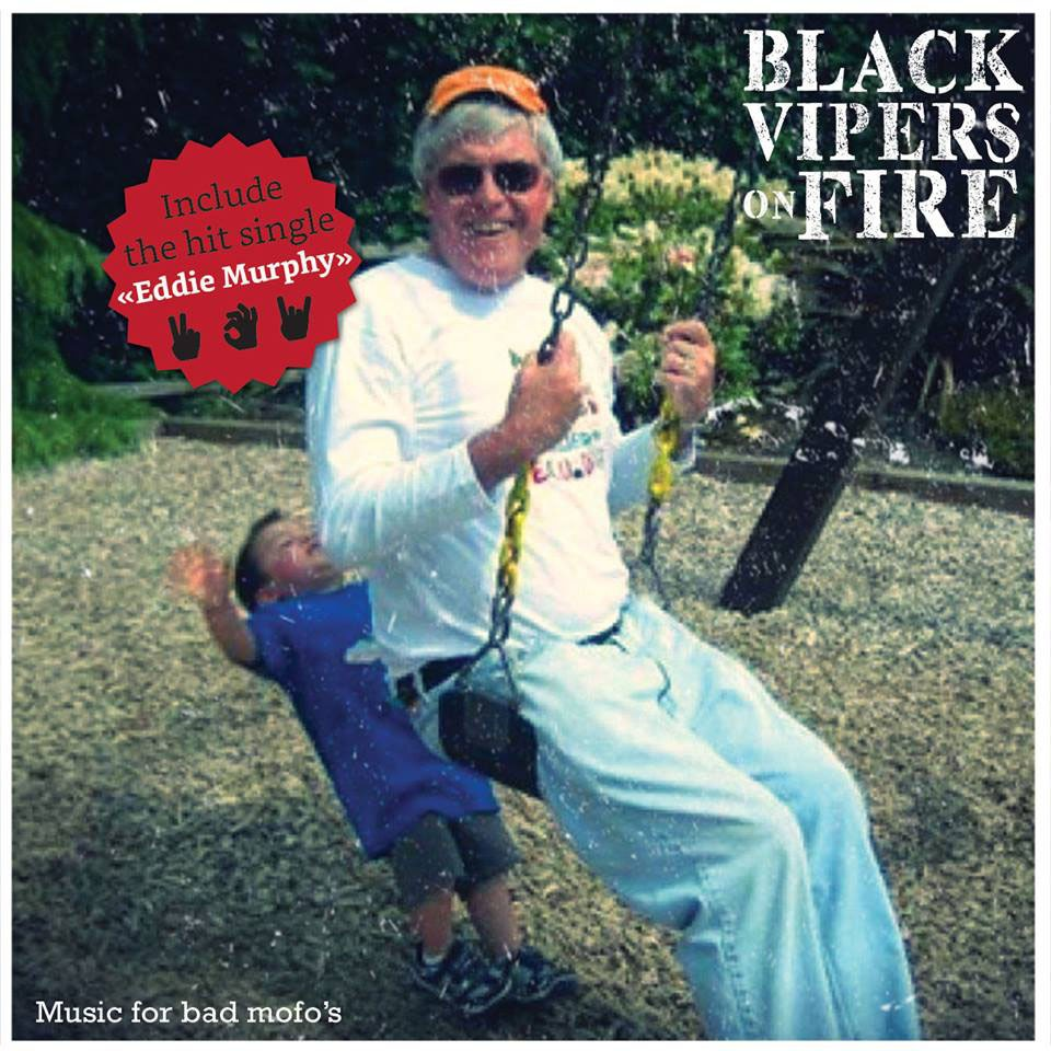 Black Vipers on Fire